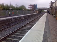 Train Now Approaching