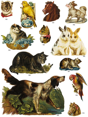 Victorian Scrap Animals Two | by Home and Heart