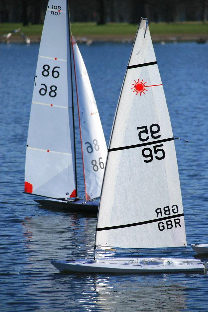 RC Laser Class Sailboats - IMG_6079 | Remote Controlled Lase