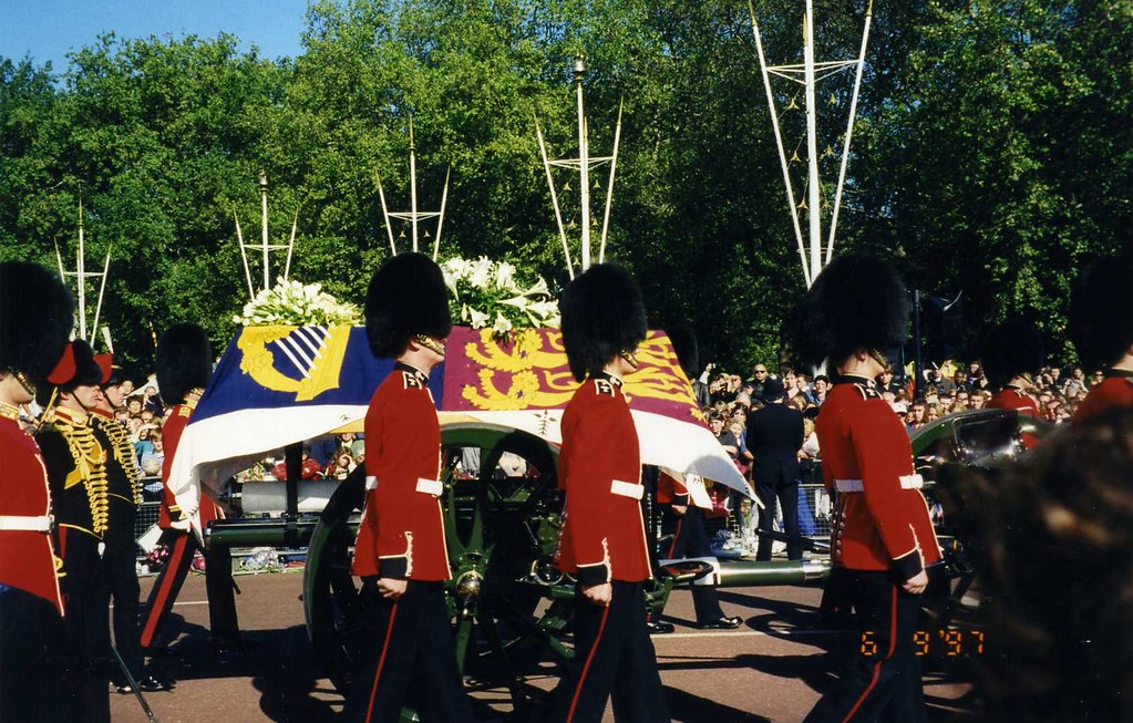 Princess Diana S Funeral Procession 6 September 1997 L Flickr