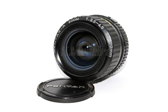 SMC PENTAX-A ZOOM 1:35~4.5 35-70mm