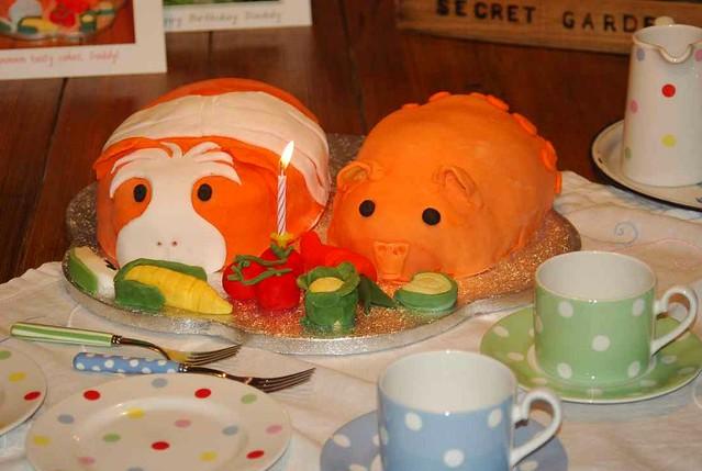Guinea Pig Birthday Cakes