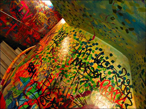 Métro graffiti