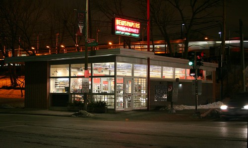 Chicago Main Newsstand   by repowers