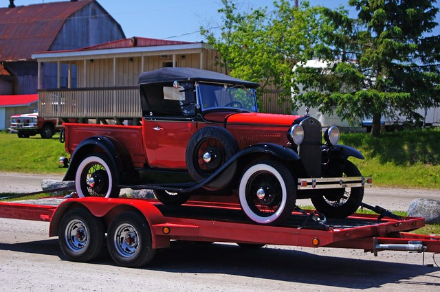 1930-31 Ford Model A Roadster Pickup Truck