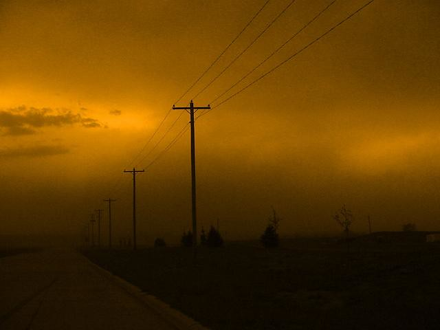 May 16, 2004 - Sever Thunderstorm just to the West of Kearney Nebraska