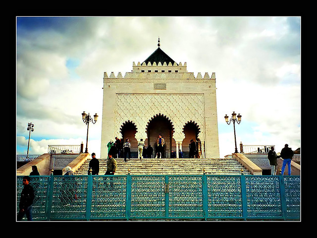 Morocco - Mausoleum of Mohammed V