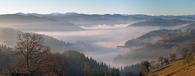 Amanece con niebla - Sunrise with fog