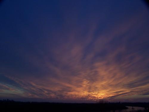 sunset sky cloud sun clouds hotel kodak casino kansascity missouri ameristar z740 ameristarcasino