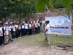 Race start by Dr. Shahid-Burewala Trekkerz (What Next)