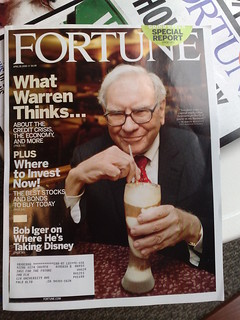 Warren Buffet DRINKS YOUR MILKSHAKE | by Jamais Cascio