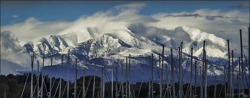 canigou fz200 lumix panasonic ciel nuages pyrénéesorientales argelèssurmer montagne mountain neige snow snowylandscape nationalgeographicgroup ngc