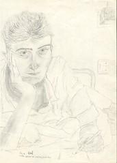 Selbstportrait September 1988 | by iwendt