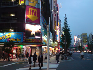 Akihabara evening   by kalleboo