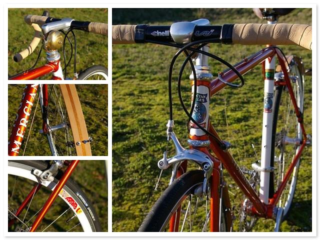 Mercian Bicycle Mosaic
