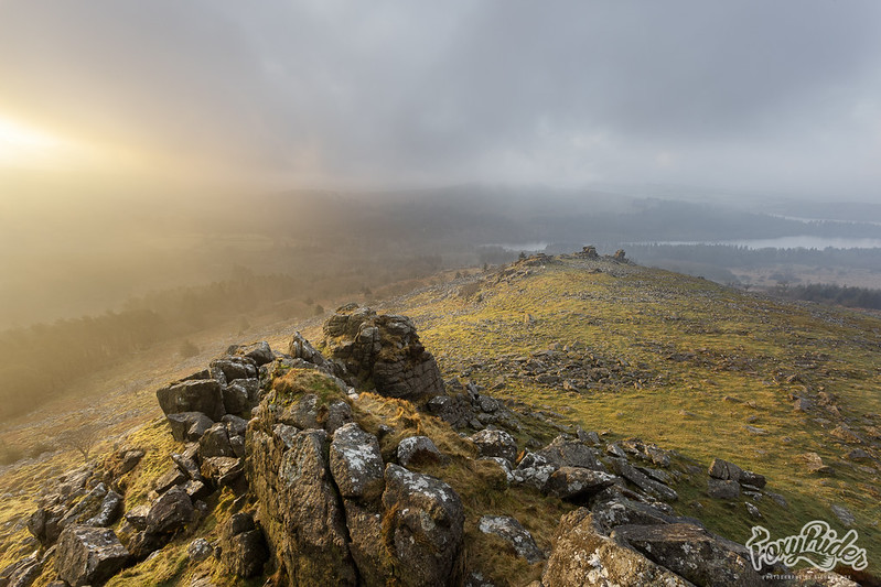 Leather Tor Misty Sunrise