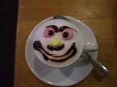 Babycino at La Tropicana Cafe in Fremantle | by sirexkat