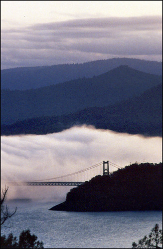 california nature sunrise landscape bridges lakeoroville