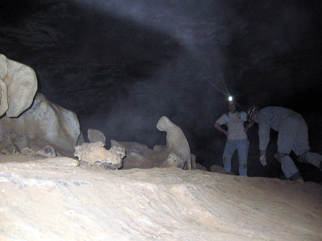 Prarie Dog Formation, Blue Spring Cave, White Co, TN