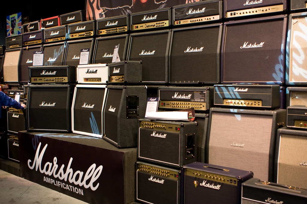 Marshall Amps | They ALL went to eleven  | Caleb Keiter | Flickr