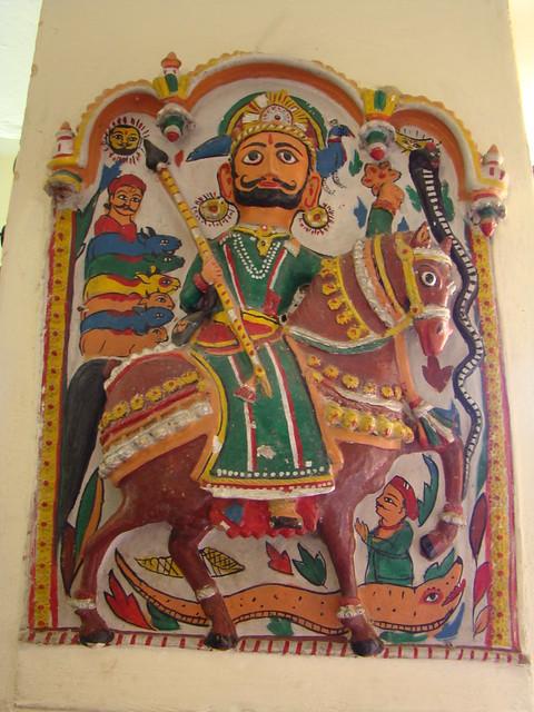 India Udaipur Museo Marionetas Mandal Bhastiya Lok
