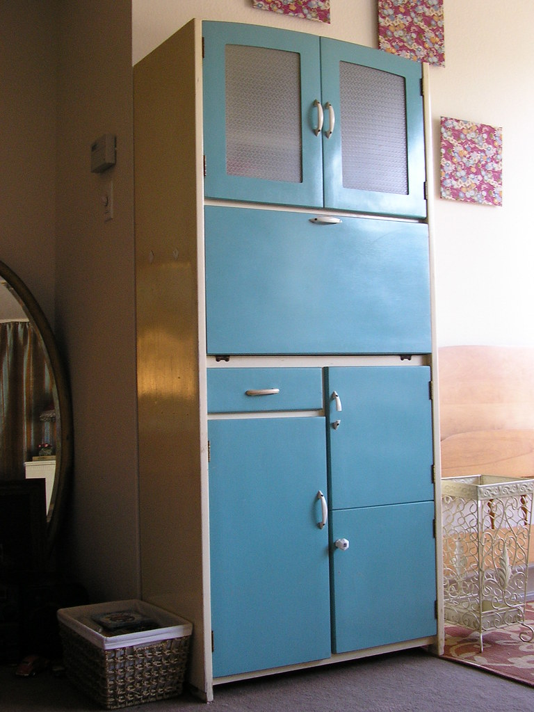 Vintage Kitchen Cabinet Sylvie F Flickr