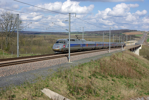 TGV R 538 (LGV Est Européenne-PK 36) | by Alain Stoll