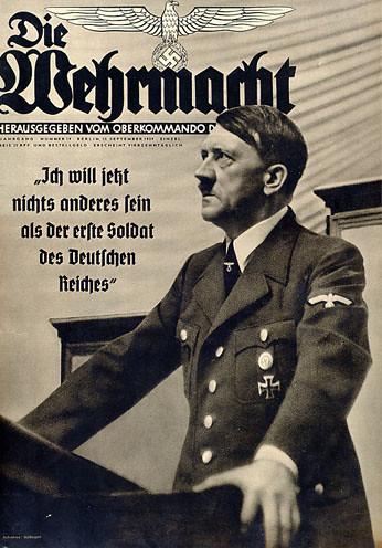 Nazi Poster - Adolf Hitler - Die Wehrmacht | World War II ...