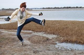 Jump girl | by sidewalk flying