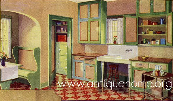 1930 Kitchen - Gordon Van-Tine Catalog