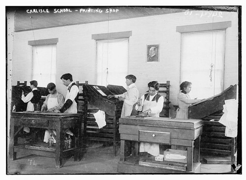 Carlisle School - Printing Shop  (LOC) | by The Library of Congress