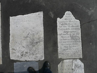 old tombstones   by Michael Newton
