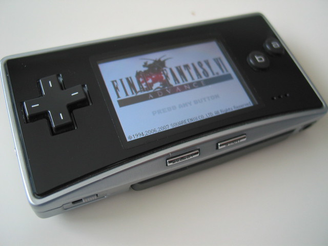 Game Boy micro with FFVI