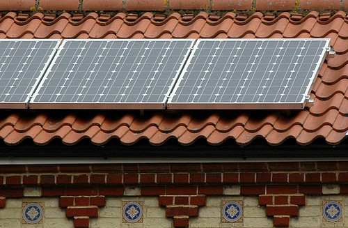 solar panel, St Benedicts, Norwich | by mira66