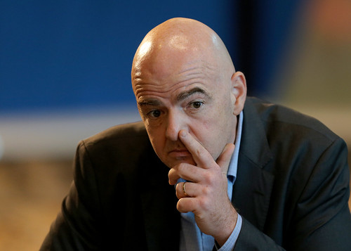 Gianni Infantino | by Doha Stadium Plus