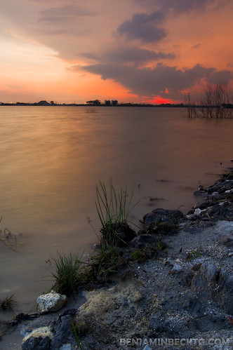 Puchong Lake Sunset | by Benjamin Beck