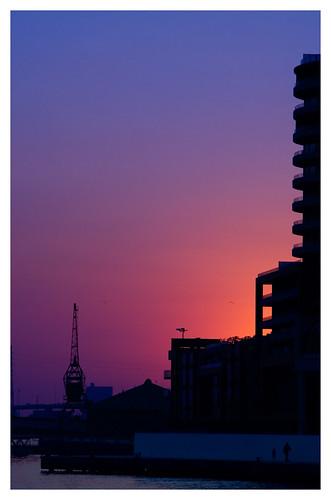Industrial Sunset by .Nigel.