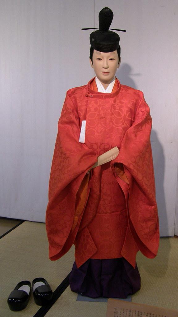 #3404 平安朝:公家殿上人衣冠姿