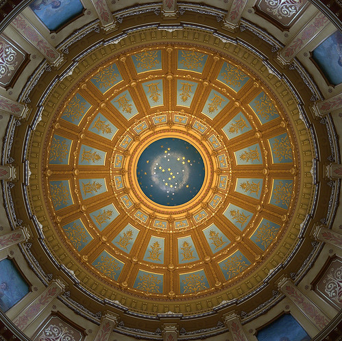 Michigan State Capitol Rotunda | by jimbowen0306