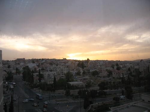 Jerusalem sunset from Olive Tree Hotel_2303 | by hoyasmeg