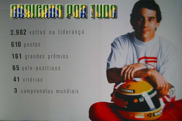 """Não Importa O Que Você Seja Quem Ayrton Senna: """"Existem, Durante A Nossa Vida, Sempre Dois"""