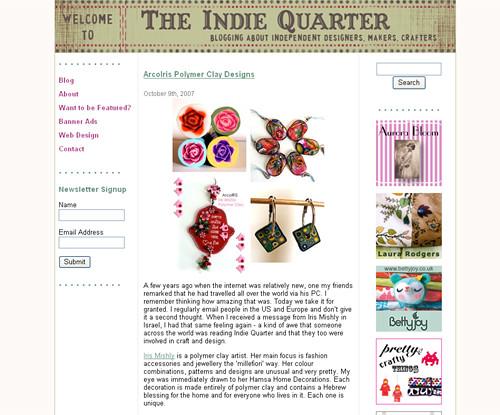 I'm on Indie Quarter :)   by Iris Mishly