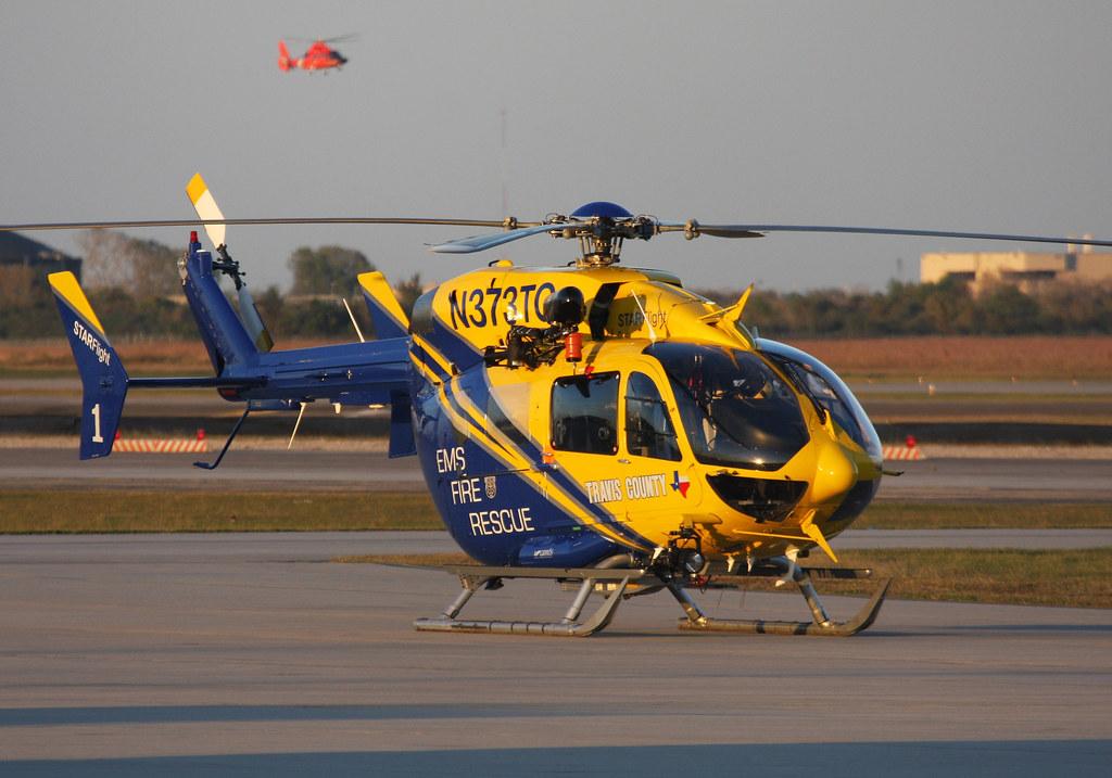 Eurocopter Deutschland EC-145 (MBB-BK 117 C-2) -  N373TC Travis County LifeStar, Austin Texas