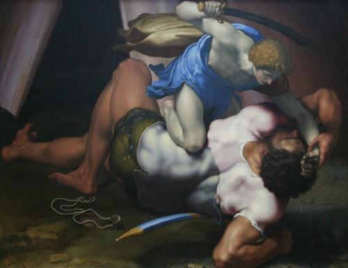 Daniele da Volterra (1509-1566) - David and Goliath | by bongo vongo