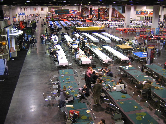 Gen Con SoCal '04 TCG Hall Setup