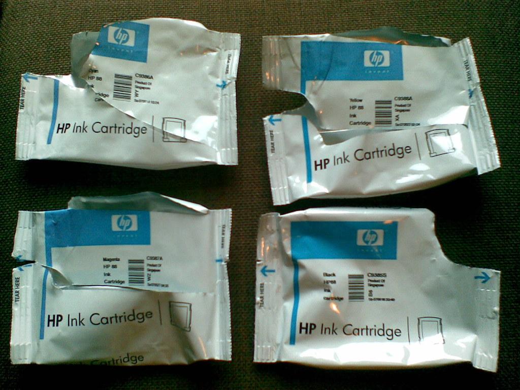 hp officejet ink packaging