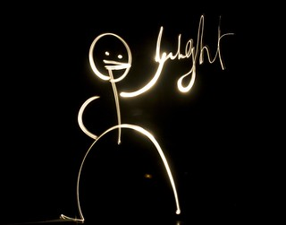 The Mr Light Saga - Mr Light is light painting | by Patrick Brosset