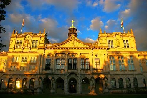 Cardiff University Main Building Facade 2
