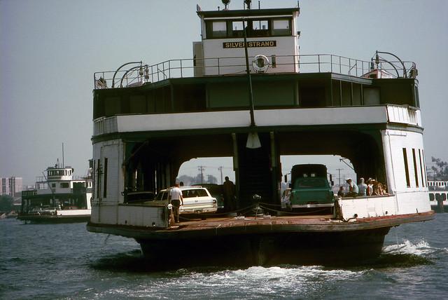 Coronado Ferry, 1969