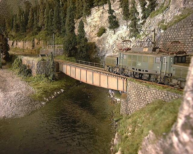 Modelleisenbahn H0 - Ausstellungsanlage